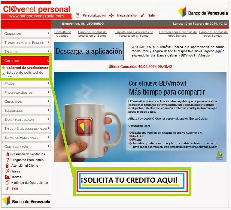 Requisitos Para Prestamos Personales Banco De Venezuela