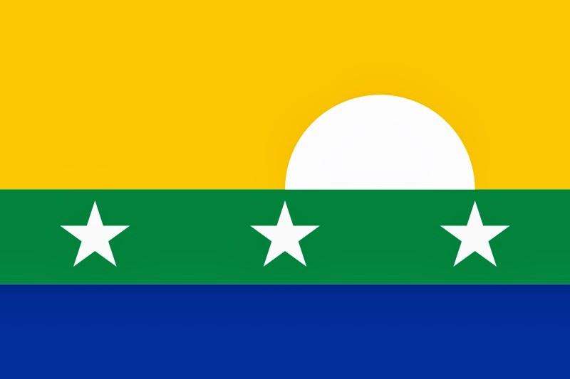 Bandera de Nueva Esparta.