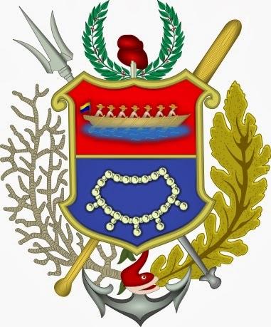Escudo de Nueva Esparta.